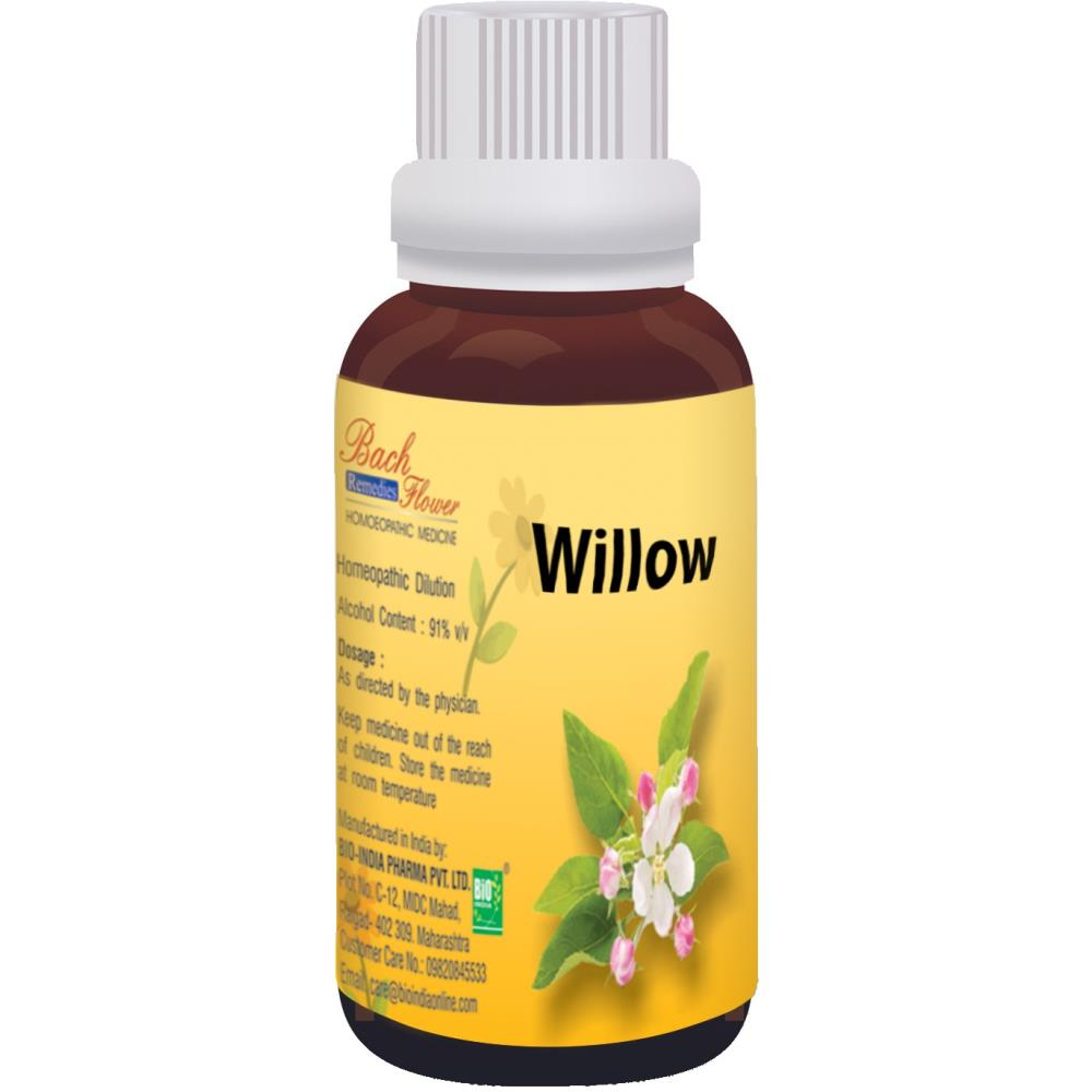 Bio India Bach Flower Willow 100ml