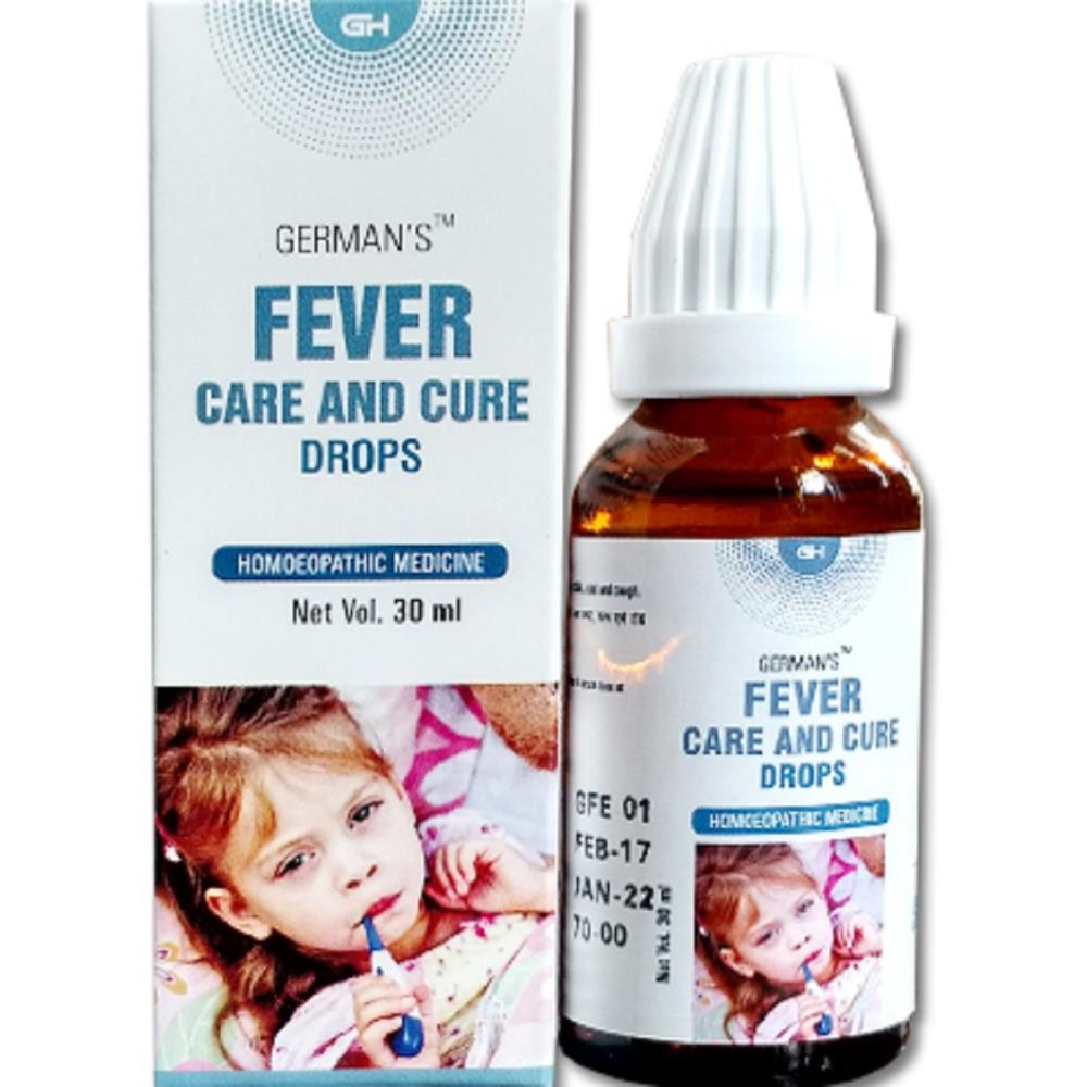 German Homeo Care & Cure Fever Drops 30ml