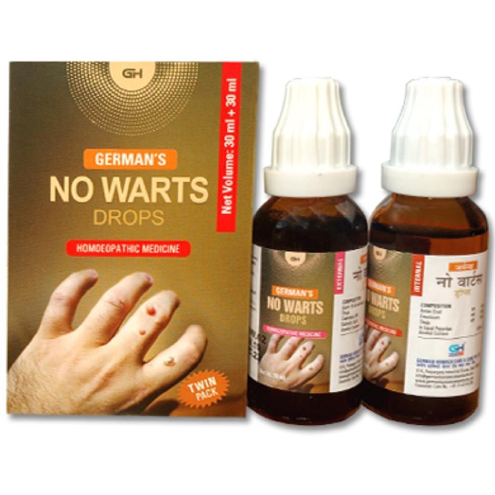 German Homeo Care & Cure No Warts Twin  30ml