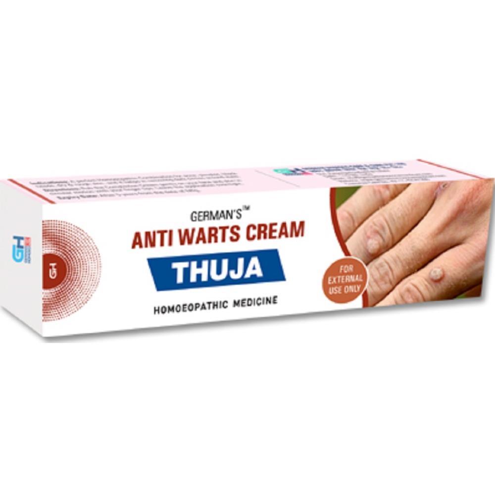 German Homeo Care & Cure Thuja Anti Warts Cream 25g