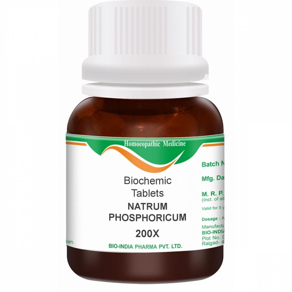 Bio India Natrum Phosphoricum 200X 25g