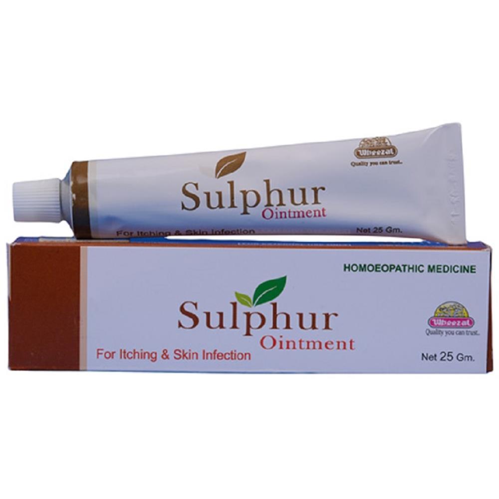 Wheezal Sulphur Ointment 25g