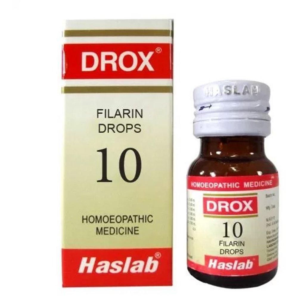 Haslab DROX 10 Filarin Drops - Filaria 30ml