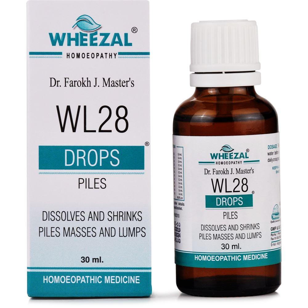 Wheezal WL-28 Piles Drops 30ml