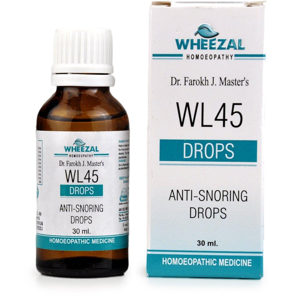 Wheezal WL-45 Anti Snoring Drops 30ml