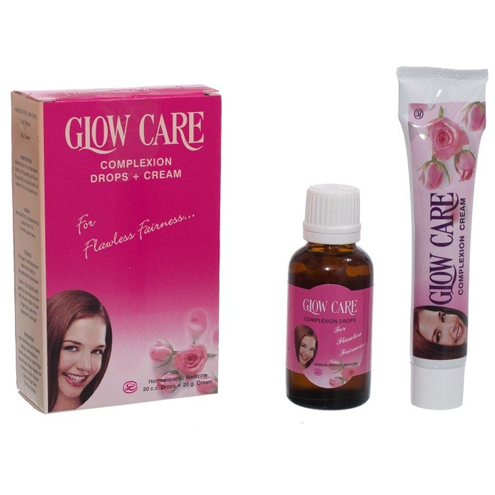 Lords Glow Care Complexion Pack Drops+Cream 1Box
