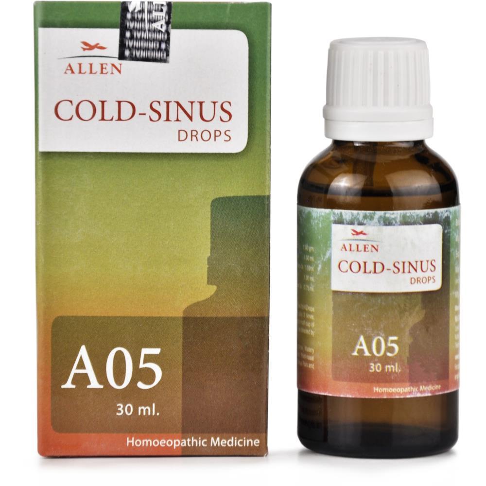 Allen A5 Cold Sinus Drops 30ml