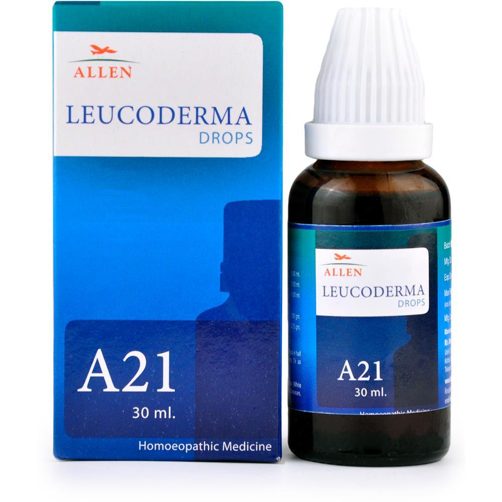 Allen A21 Leucoderma Drops 30ml