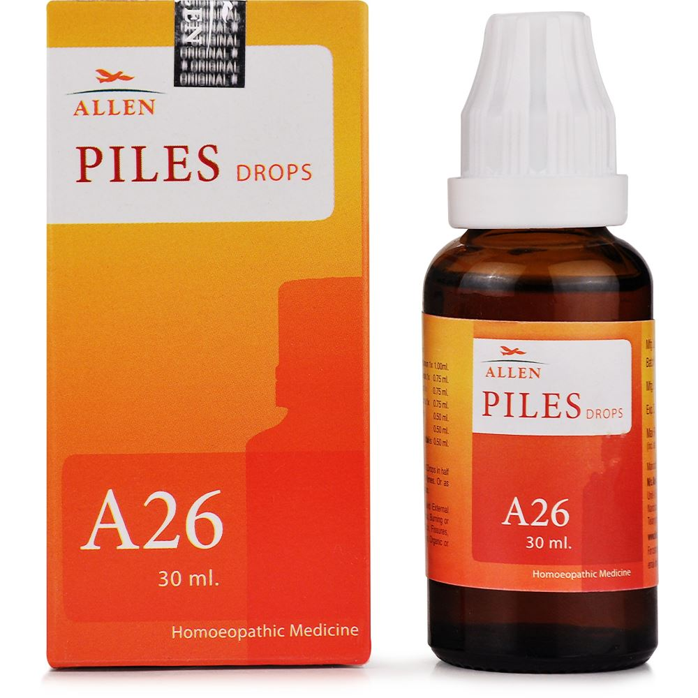 Allen A26 Piles Drops 30ml