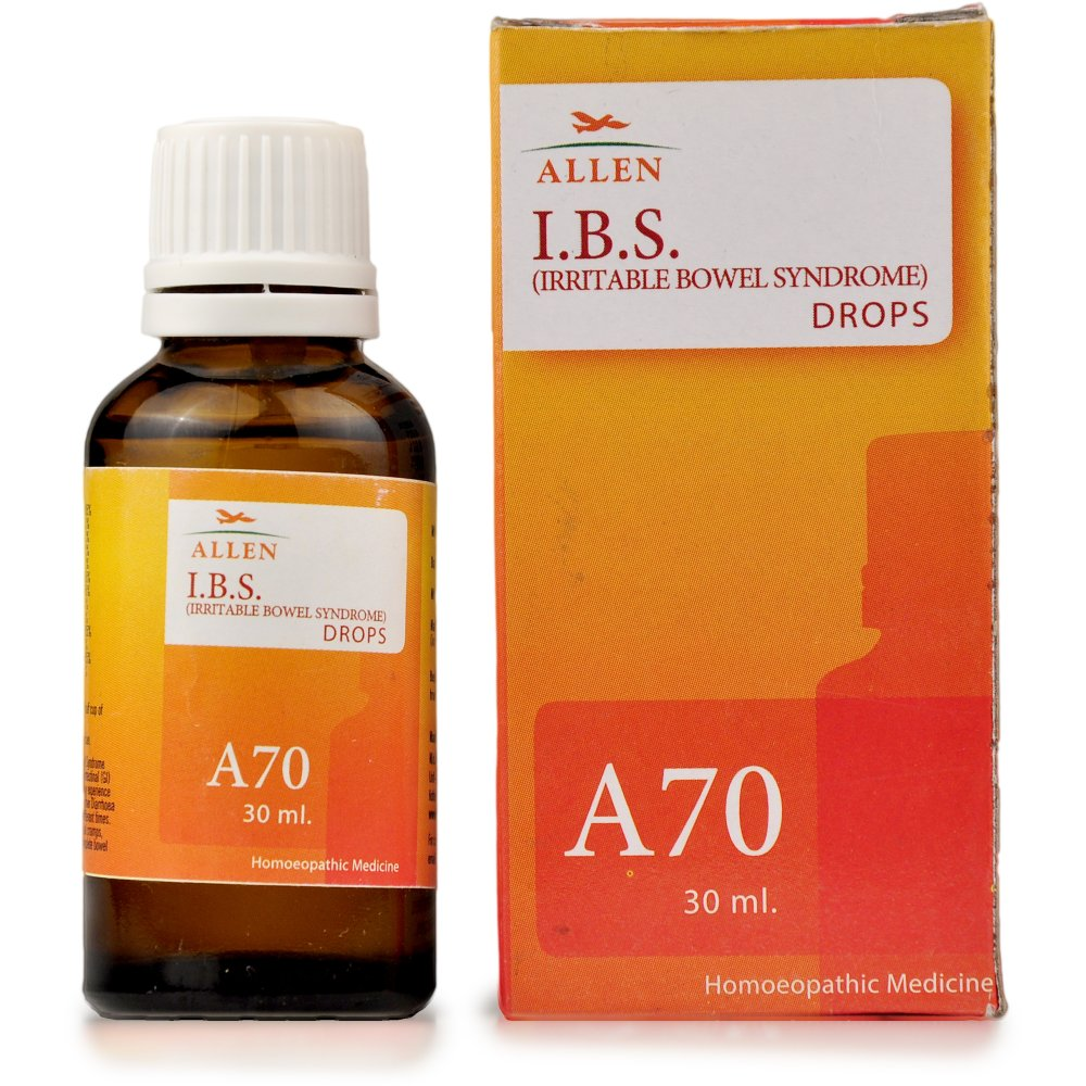 Allen A70 Irritable Bowel Syndrome IBS Drops 30ml