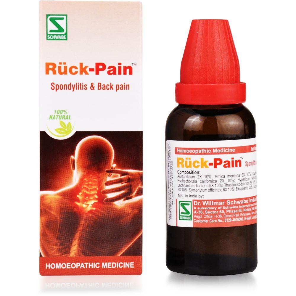 Willmar Schwabe India Ruck-Pain Drops 30ml