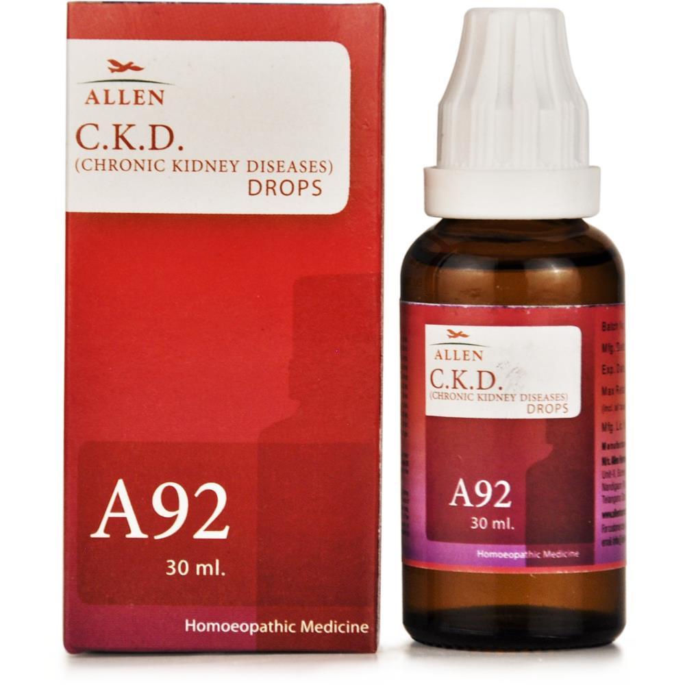 Allen A92 Chronic Kidney Diseases CKD Drops 30ml