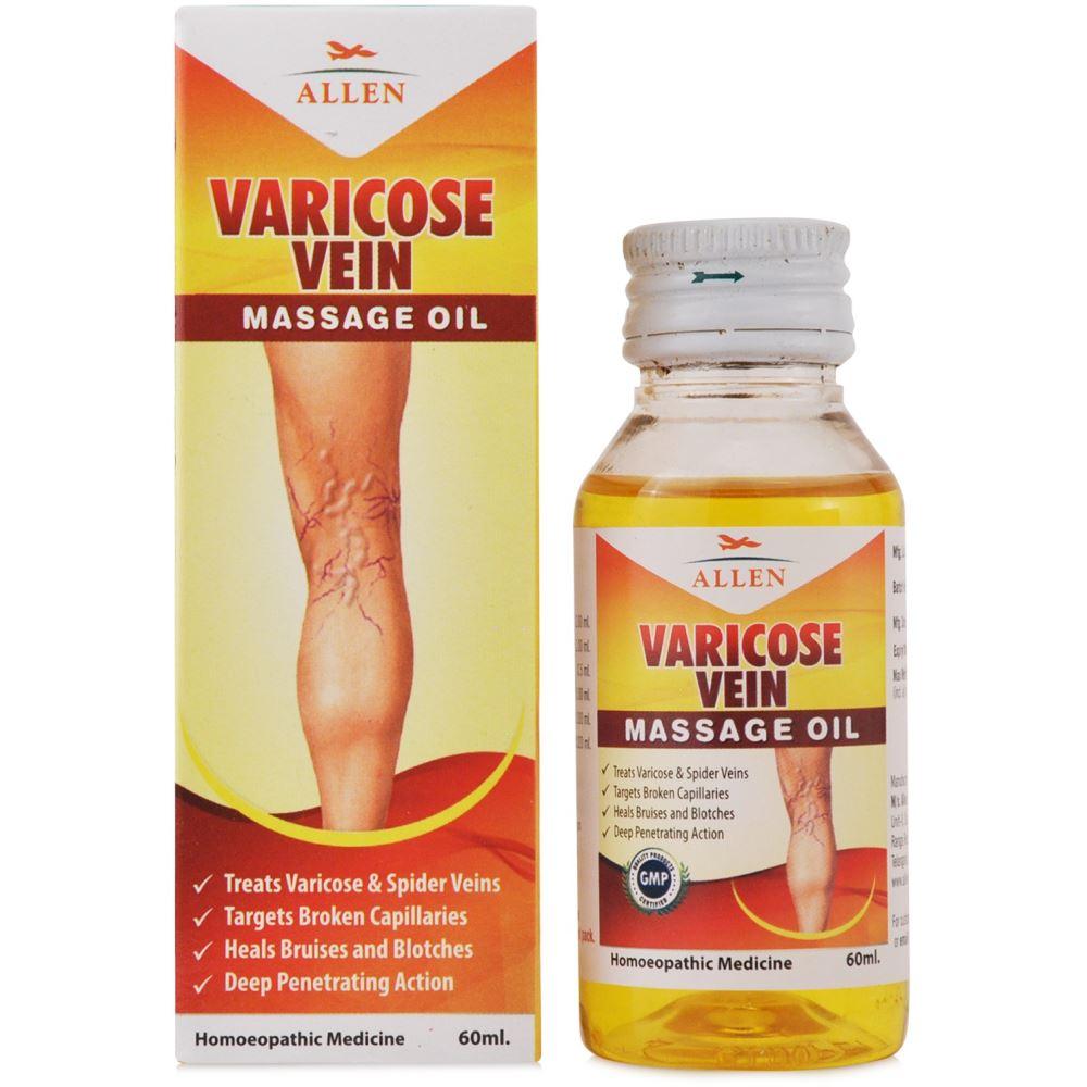 Allen Varicose Vein Massage Oil 60ml