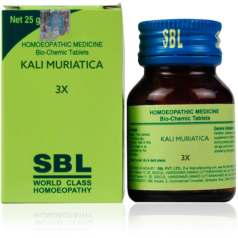 SBL Kali Muriaticum 3X 25g