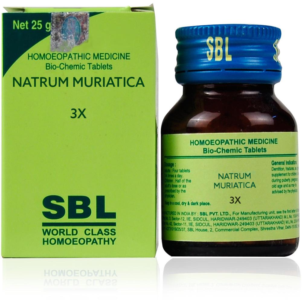 SBL Natrum Muriaticum 3X 25g
