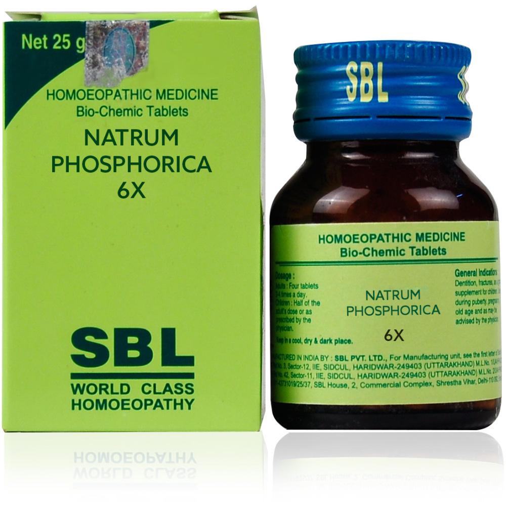 SBL Natrum Phosphoricum 6X 25g