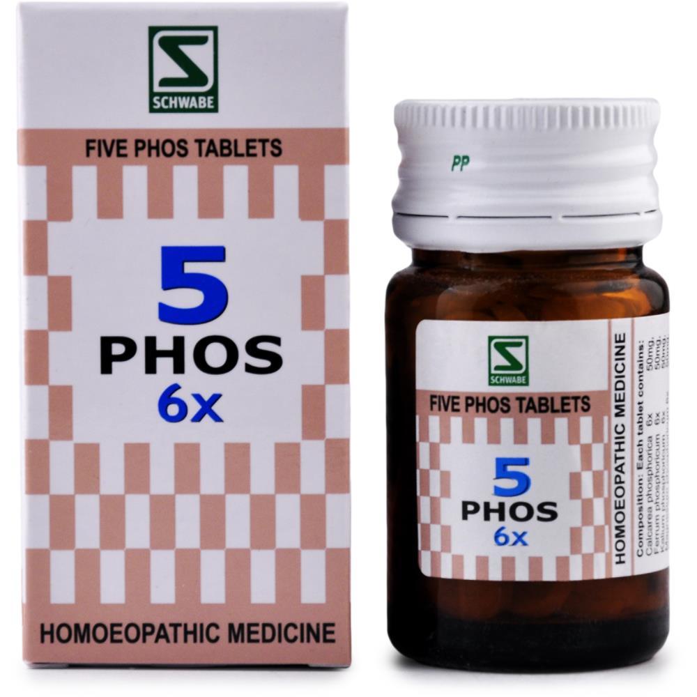 Willmar Schwabe India Five Phos 6X 20g