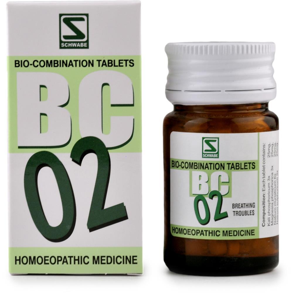 Willmar Schwabe India Bio Combination 2 20g