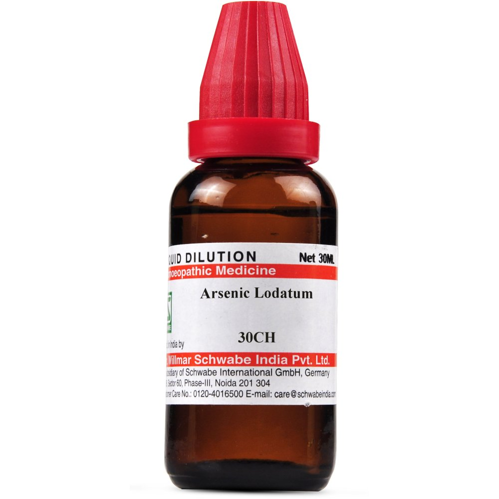 Willmar Schwabe India Arsenic Iodatum 30 CH 30ml